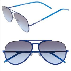 Marc Jacobs Blue Aviator sunglasses
